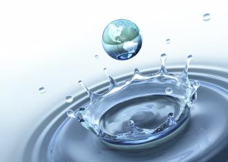 Wasseraufbereitung, Wasser tropfen